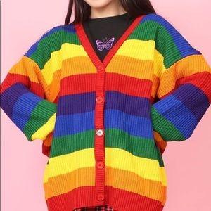 Sweaters - WC Rainbow Cardigan